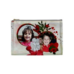 Mimi By Maria Georgieva   Cosmetic Bag (medium)   Mteywy86cadz   Www Artscow Com Front