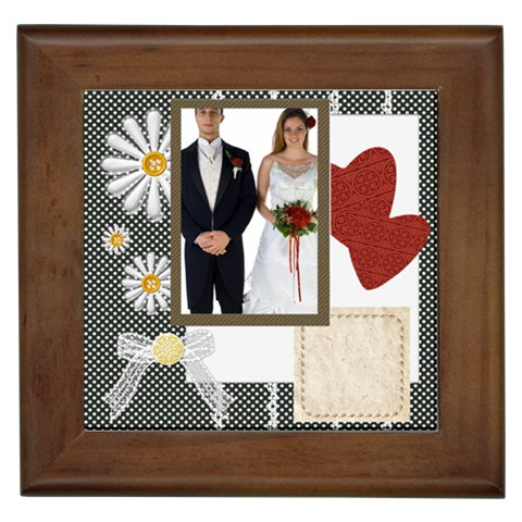 Wedding By Jo Jo   Framed Tile   Z04oopb6v3gm   Www Artscow Com Front
