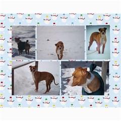 Calendar By Lisa   Wall Calendar 11  X 8 5  (12 Months)   4xhsqy715pbm   Www Artscow Com Month
