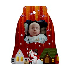 Chhristmas Town Bell (2 Sides) By Maryanne   Bell Ornament (two Sides)   Kmdzqdbix2l2   Www Artscow Com Front