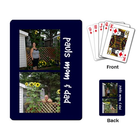 Paul By Peter   Playing Cards Single Design   3745tam1l7my   Www Artscow Com Back