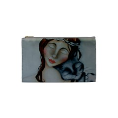 Friends Cosmetic Bag (small) By Deb Harvey   Cosmetic Bag (small)   3a2ceqifx59h   Www Artscow Com Front