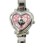 My love - Heart Italian Charm Watch
