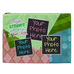 These Smiles Are What I Live For Xxl Cosmetic By Digitalkeepsakes   Cosmetic Bag (xxl)   Jfbzl3c2h5d8   Www Artscow Com Front