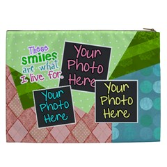 These Smiles Are What I Live For Xxl Cosmetic By Digitalkeepsakes   Cosmetic Bag (xxl)   Jfbzl3c2h5d8   Www Artscow Com Back