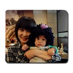 jean chen - Large Mousepad