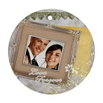 wedding - Ornament (Round)
