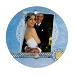 wedding - Round Ornament (Two Sides)