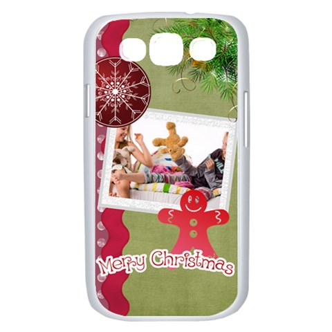 Merry Christmas, Xmas, Happy New Year  By Betty   Samsung Galaxy S Iii Case (white)   Uyhawo5pc1ar   Www Artscow Com Front