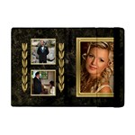 Black and Gold Marble Apple iPad mini flip Case