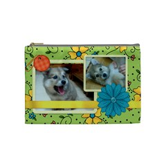 Dog By Yu Shan Lee   Cosmetic Bag (medium)   Ugjatkc3i5d3   Www Artscow Com Front