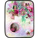 Precious Sisters Mini Blanket - Mini Fleece Blanket