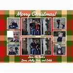 Christmas 2012 - 5  x 7  Photo Cards