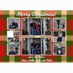 Christmas 2012 By Holly Rode   5  X 7  Photo Cards   Qivo9bc1adyn   Www Artscow Com 7 x5  Photo Card - 7