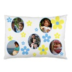 Sunny White Pillow case (2 sided) - Pillow Case (Two Sides)