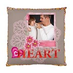 heart of kids love - Cushion Case (One Side)