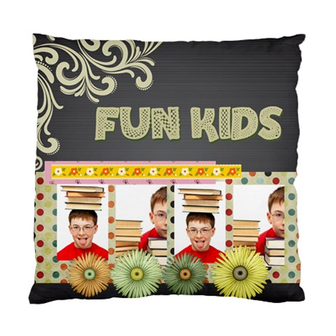 Heart Of Kids Love By Jo Jo   Standard Cushion Case (one Side)   G4b8dxvfaxka   Www Artscow Com Front