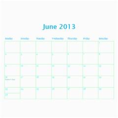 Calendar By Estee   Wall Calendar 11  X 8 5  (18 Months)   Dbio8bm9tsoj   Www Artscow Com Jun 2013