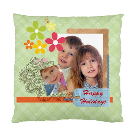 Heart Of Kids Love Family By Jo Jo   Standard Cushion Case (one Side)   Bwup98f8dk9i   Www Artscow Com Front
