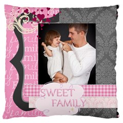 Kids Of Love By Jo Jo   Large Cushion Case (two Sides)   7rhwq6mgarfh   Www Artscow Com Front