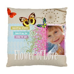 Kids Of Love Family By Jo Jo   Standard Cushion Case (two Sides)   9itgcbkendlz   Www Artscow Com Back