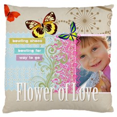 Kids Of Love By Jo Jo   Large Cushion Case (two Sides)   Zabmziok4708   Www Artscow Com Back