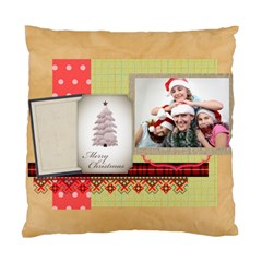 Merry Christmas By Jo Jo   Standard Cushion Case (two Sides)   Rwoa50pgc4he   Www Artscow Com Back