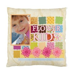 Flower Kids By Jo Jo   Standard Cushion Case (two Sides)   Bg4oiyx60t1n   Www Artscow Com Back