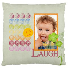 Flower Kids By Jo Jo   Large Cushion Case (two Sides)   94bzm8by73fm   Www Artscow Com Front