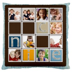 Kids By Joely   Large Cushion Case (two Sides)   O44yziqoaldx   Www Artscow Com Front