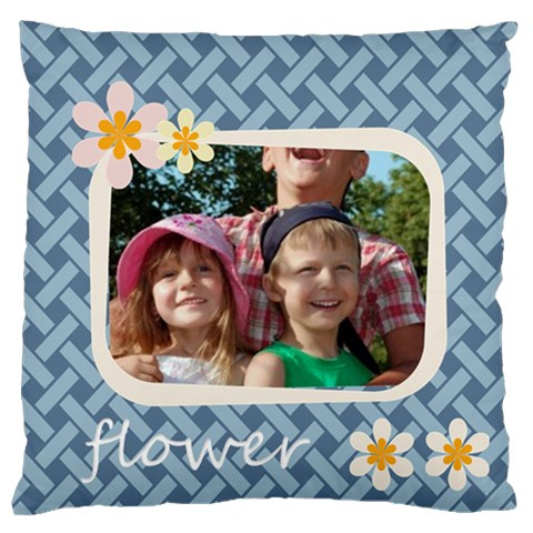Kids By Joely   Large Cushion Case (one Side)   Kihxsxdhclfx   Www Artscow Com Front