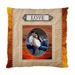 Love Cushion Case (1 Sided) - Cushion Case (One Side)