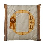Number 1 Dad Cushion Case (1 Sided) - Cushion Case (One Side)