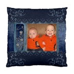 Denim Design Cushion Case (1 Sided) - Standard Cushion Case (One Side)