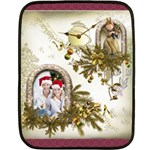 Merry Christmas & Happy New Year Mini Fleece Blanket - Fleece Blanket (Mini)