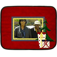 Mom By Consuelo   Double Sided Fleece Blanket (mini)   Xs04eyoiqose   Www Artscow Com 35 x27 Blanket Back