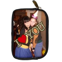 Gitty s Bday Pres By Sara   Digital Camera Leather Case   Rdjnutxzio9u   Www Artscow Com Front