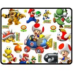 mario chaise - Fleece Blanket (Medium)
