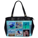 Ocean Vacation Office Handbag - Oversize Office Handbag (One Side)