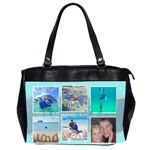 Ocean Vacation Office Handbag - Oversize Office Handbag (Two Sides)