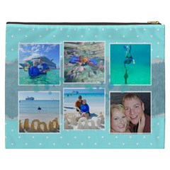 Ocean Vacation Cosmetic Bag Xxxl By Digitalkeepsakes   Cosmetic Bag (xxxl)   6toc6fyubmbh   Www Artscow Com Back
