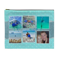 Ocean Vacation Cosmetic Bag Xl By Digitalkeepsakes   Cosmetic Bag (xl)   Ox2di2j9zmwo   Www Artscow Com Front