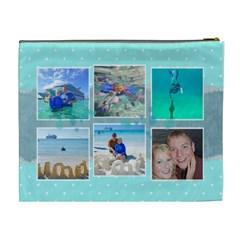 Ocean Vacation Cosmetic Bag Xl By Digitalkeepsakes   Cosmetic Bag (xl)   Ox2di2j9zmwo   Www Artscow Com Back