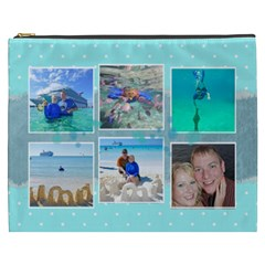 Ocean Vacation Cosmetic Bag Xxxl By Digitalkeepsakes   Cosmetic Bag (xxxl)   7q27wf8mwncc   Www Artscow Com Front