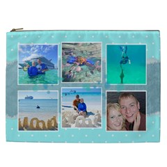Ocean Vacation Cosmetic Bag Xxl By Digitalkeepsakes   Cosmetic Bag (xxl)   Ymdqfd0kwv83   Www Artscow Com Front
