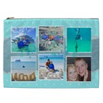 Ocean Vacation Cosmetic Bag XXL - Cosmetic Bag (XXL)