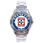 dads cruz azul watch - Stainless Steel Analogue Watch