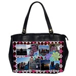 Argyle Flowers Office Handbag - Oversize Office Handbag (One Side)
