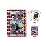 Flower Argyle Playing Cards - Playing Cards (Mini)