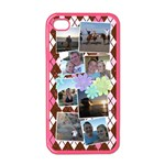 Flower Argyle - Apple iPhone 4 Case (Color)